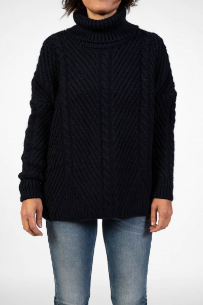 JERSEI SUPERDRY TORI CABLE CAPE
