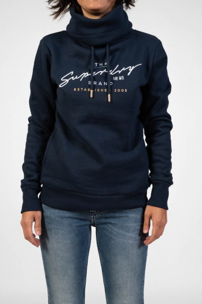 SUDADERA SUPERDRY APPLIQUE FUNNEL HOOD