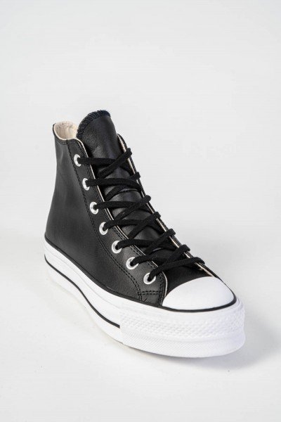 VAMBES CONVERSE CHUCK TAYLOR ALL STAR LIFT LEATHER HIGH TOP 561675