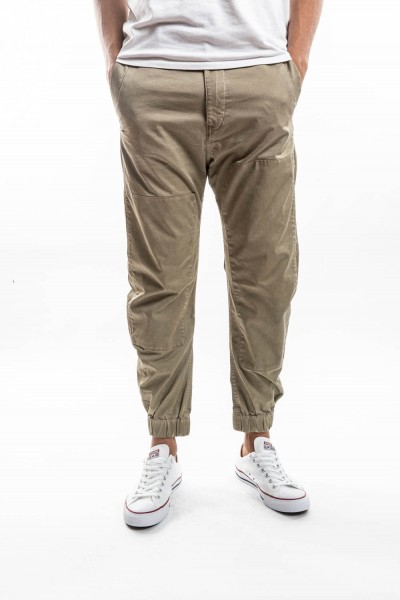 PANTALONS BRONSON ZIP TAPERED CUFFED