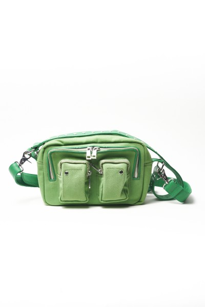 BOLSO NÚNOO ELLIE RECYCLED CANVAS GRASS