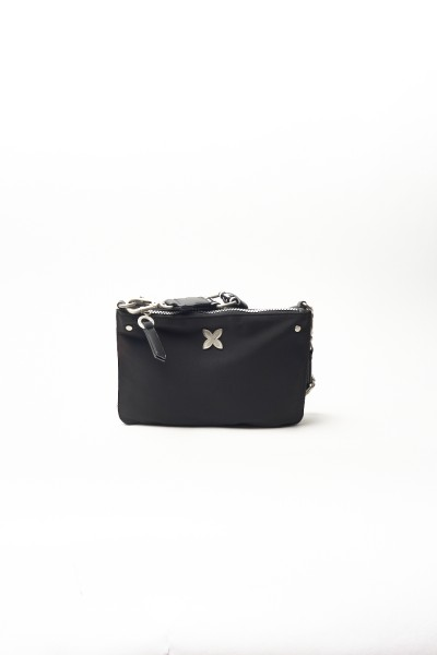 BOLSO CROSSBODY DOUBLE MUNICH CLEVER  BLACK