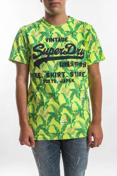 CAMISETA SUPERDY SHOP AOP TEE